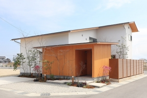 富山県富山市,木の家の外観写真