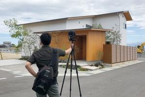 富山県富山市,自然素材の家の外観写真