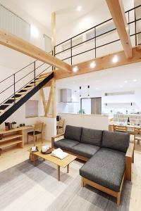 富山県黒部市で吹き抜けのある家なら山下ホーム