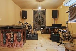 富山県魚津市,音楽を楽しむ趣味部屋の写真