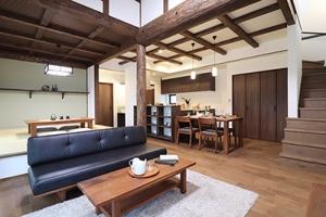 富山県魚津市,古民家風の家の写真