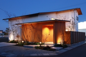 富山市で建てた注文住宅の写真